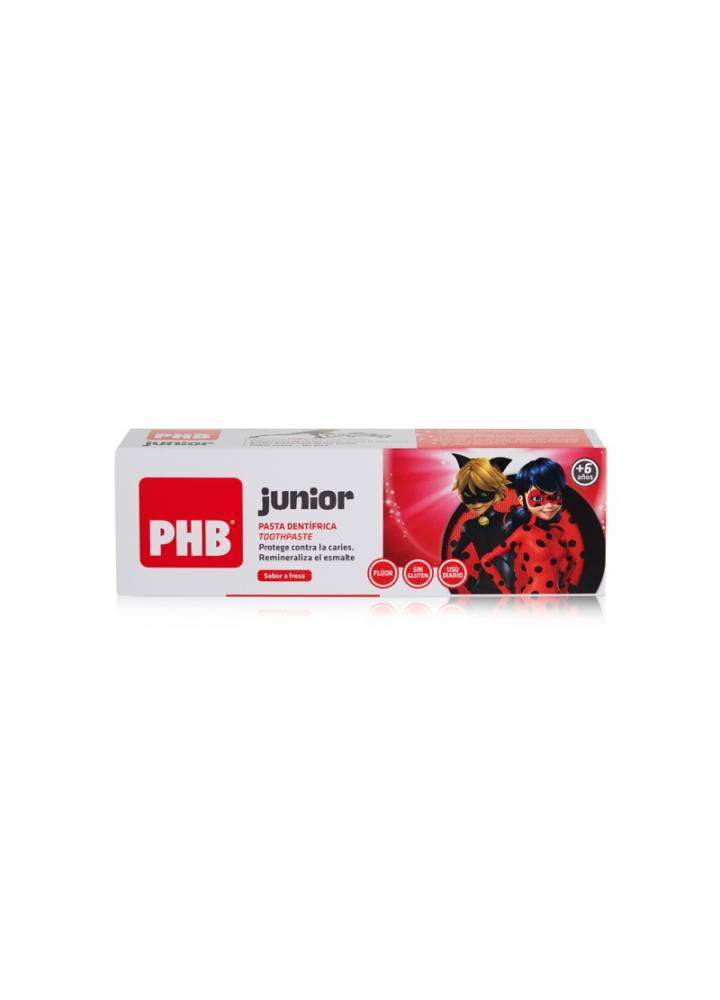 Pasta PHB Junior Fresa 75ml